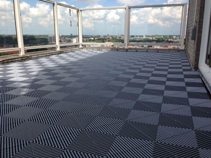 Favoriete Balkonvloeren van Swissdeck. Uw duurzame balkon tegels SW97