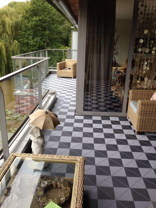 Bekend Balkonvloeren van Swissdeck. Uw duurzame balkon tegels PR24
